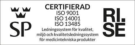 ISO 9001, 13485, 14001 logo